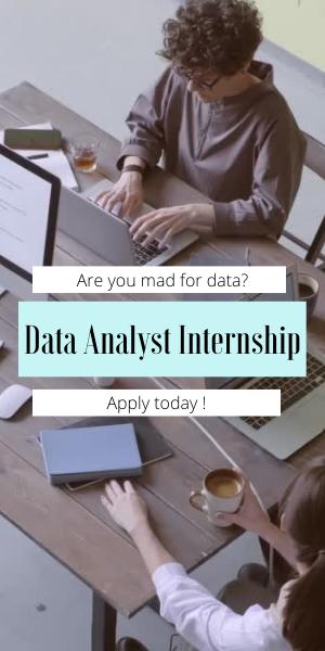 Data Analyst Internship